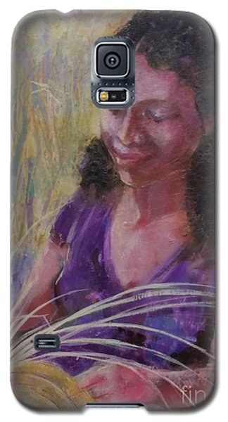 Galaxy S5 Case featuring the painting Dream Weaver by Gertrude Palmer