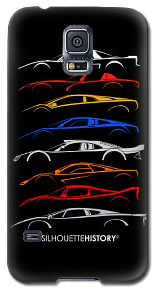 Viper Galaxy S5 Case - Dreamcars Of 90s Silhouettehistory by Gabor Vida