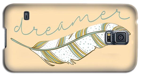 Galaxy S5 Case featuring the digital art Dreamer by Heather Applegate