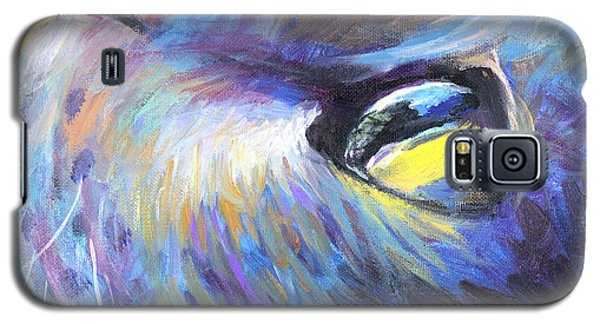Dreamer Tubby Cat Painting Galaxy S5 Case