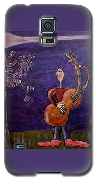Galaxy S5 Case featuring the painting Dreamers 13-001 by Mario Perron