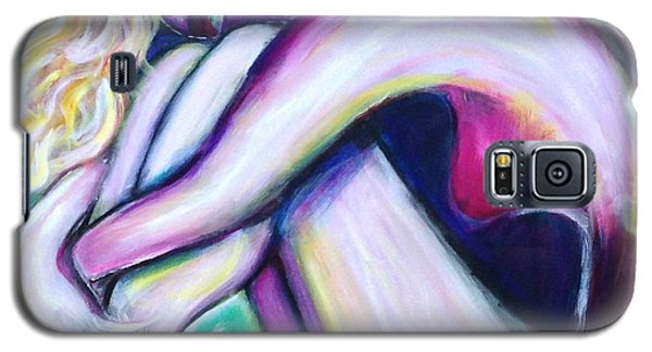 Galaxy S5 Case featuring the painting Dreaming by Anya Heller