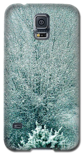 Galaxy S5 Case featuring the photograph Dreaming Of A White Christmas - Winter In Switzerland by Susanne Van Hulst