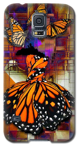 Galaxy S5 Case featuring the mixed media Dreaming Of Flying High by Marvin Blaine