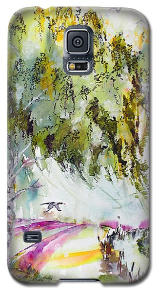 Galaxy S5 Case featuring the painting Dreaming Of Provence by Ginette Callaway
