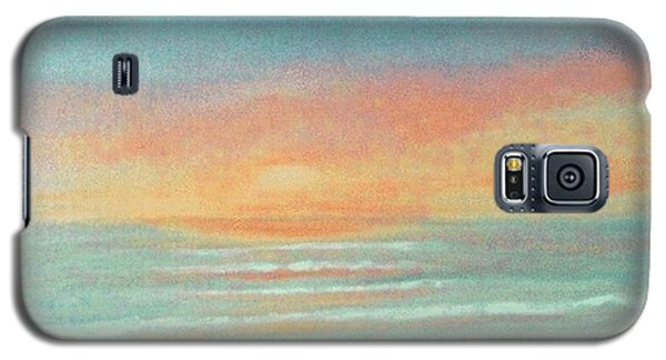 Galaxy S5 Case featuring the painting Dreaming Of Summer by Holly Martinson