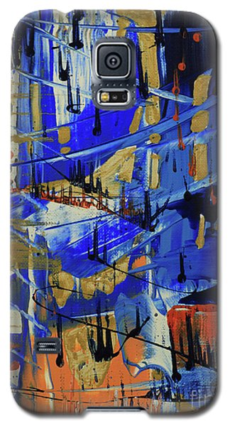 Galaxy S5 Case featuring the painting Dreaming Sunshine II by Cathy Beharriell