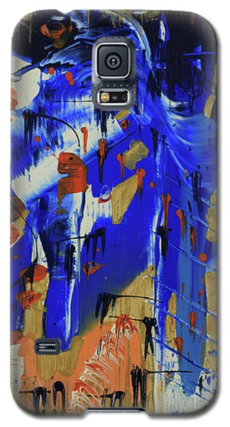 Galaxy S5 Case featuring the painting Dreaming Sunshine IIi by Cathy Beharriell