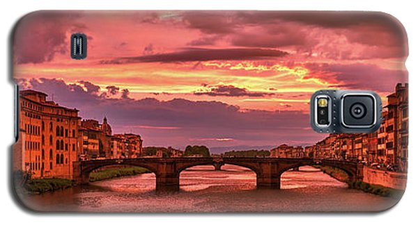 Dreamlike Sunset From Ponte Vecchio Galaxy S5 Case