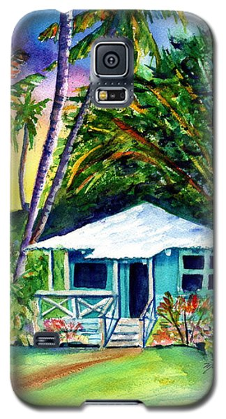 Galaxy S5 Case featuring the painting Dreams Of Kauai 2 by Marionette Taboniar
