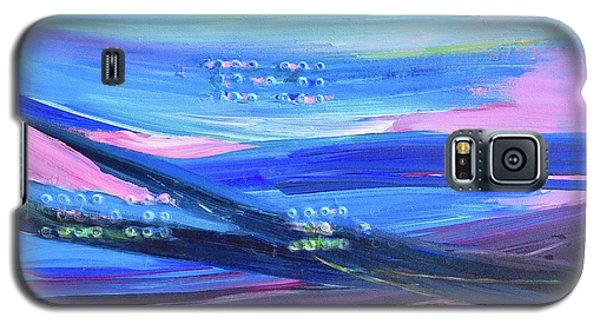 Galaxy S5 Case featuring the painting Dreamscape by Irene Hurdle