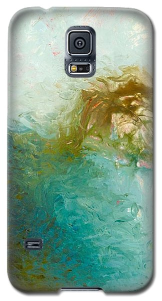 Galaxy S5 Case featuring the painting Dreamstime 3 by Irene Hurdle