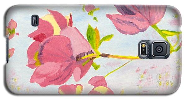 Dreamy Magnolias Galaxy S5 Case by Meryl Goudey