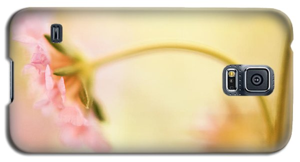 Galaxy S5 Case featuring the photograph Dreamy Pink Flower by Bonnie Bruno