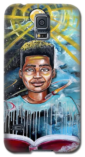 School Galaxy S5 Case - Drenched In Knowledge by Artist RiA