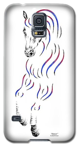 Dressage Horse Dancer Print Galaxy S5 Case