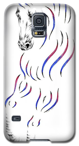 Dressage Horse Dancer Print Galaxy S5 Case