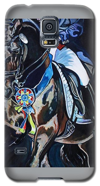 Dressage Stallion Galaxy S5 Case