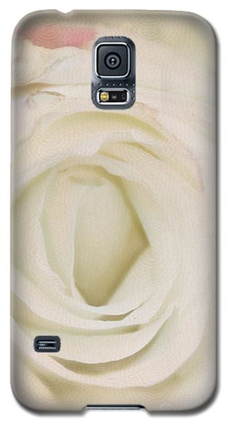Dressed In White Satin Galaxy S5 Case