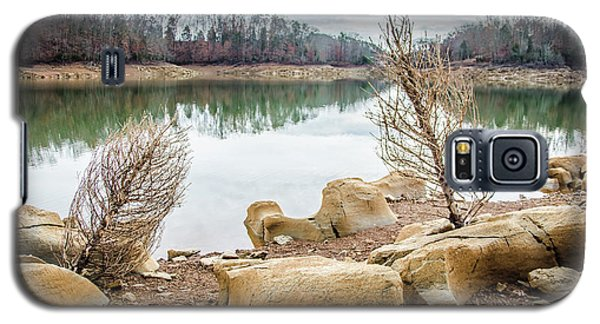 Dried Shrubs At Cherokee Reservoir Galaxy S5 Case