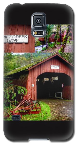 Drift Creek Covered Bridge Galaxy S5 Case