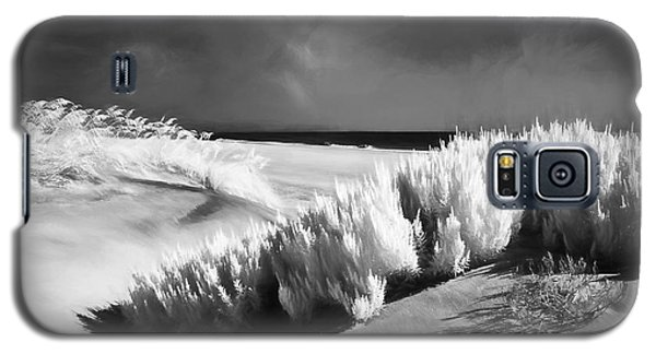 Galaxy S5 Case featuring the painting Drifting Sands II by Dan Carmichael