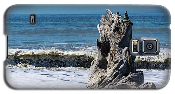 Driftwood In The Surf Galaxy S5 Case