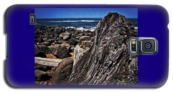 Driftwood Rocks Water Galaxy S5 Case