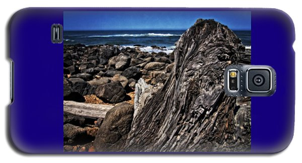 Driftwood Rocks Water Galaxy S5 Case