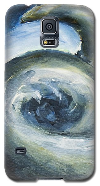 Galaxy S5 Case featuring the painting Driftwood by Yulia Kazansky