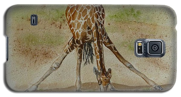 Drinking Giraffe Galaxy S5 Case
