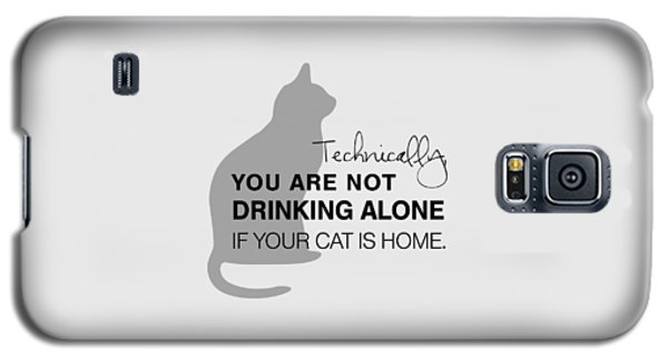 Drinking With Cats Galaxy S5 Case