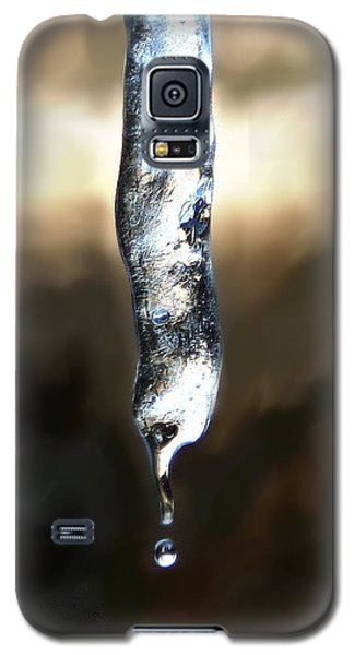 Galaxy S5 Case featuring the photograph Drip by Diane Merkle