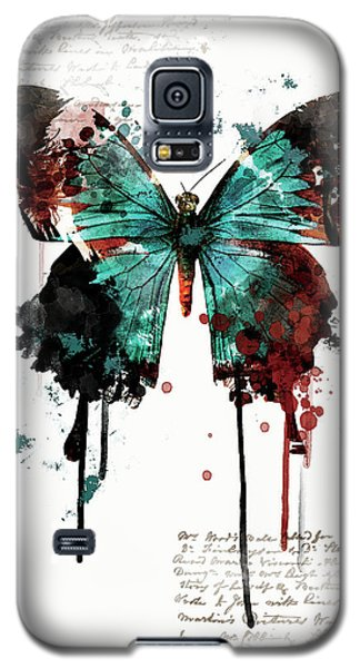 Dripping Butterfly Galaxy S5 Case