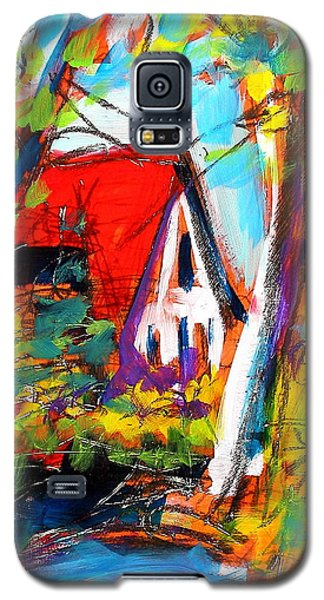 Driveway Revisited Galaxy S5 Case by Les Leffingwell