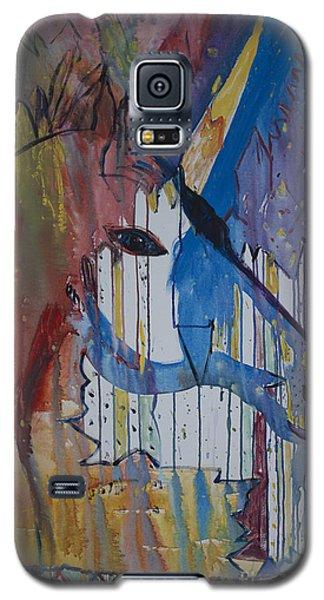 Drizzled Unicorn  Galaxy S5 Case by Avonelle Kelsey