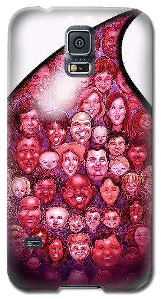 Drop Of Blood Galaxy S5 Case