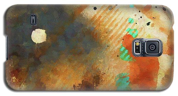 Dropcloth Moon Galaxy S5 Case