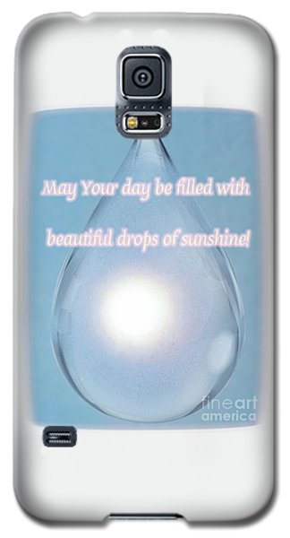 Drops Of Sunshine Galaxy S5 Case