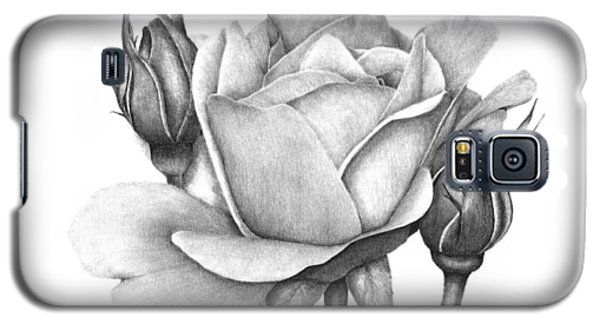 Drum Rose Galaxy S5 Case by Patricia Hiltz