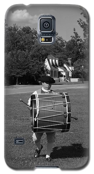 Galaxy S5 Case featuring the photograph Drummer Boy by Eric Liller
