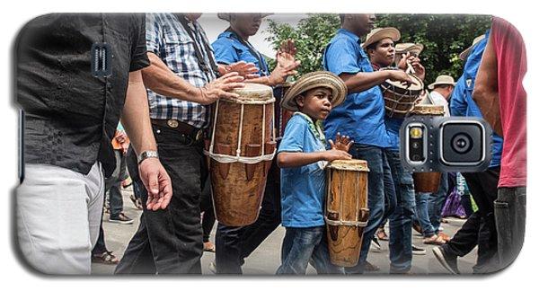 Drummer Boy In Parade Galaxy S5 Case