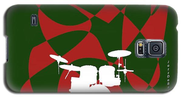 Drums In Green Strife Galaxy S5 Case by David Bridburg