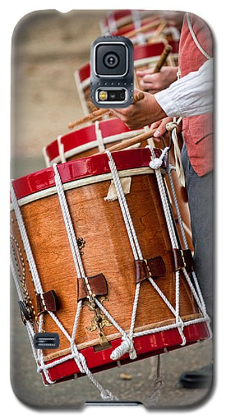 Drums Of The Revolution Galaxy S5 Case by Christopher Holmes