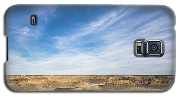 Galaxy S5 Case featuring the photograph Dry Fall, Washington by Jingjits Photography