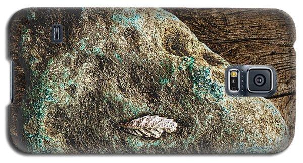 Dryas Leaf And Copper Nugget Galaxy S5 Case