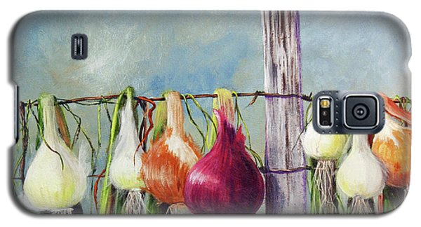 Drying Onions Galaxy S5 Case