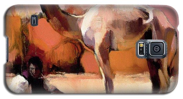 dsu and Said - Rann of Kutch  Galaxy S5 Case by Mark Adlington