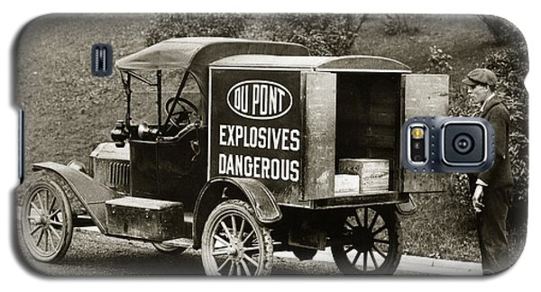 Du Pont Co. Explosives Truck Pennsylvania Coal Fields 1916 Galaxy S5 Case