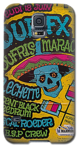 Dub Fx And Zoufris Maracas Poster Galaxy S5 Case
